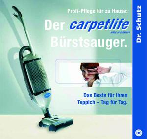 Prospekt Teppichpflege