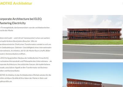 Texte Architekturbüro Badtke