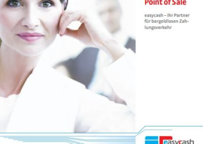 Imagebroschüre Zahlungssystem-Anbieter