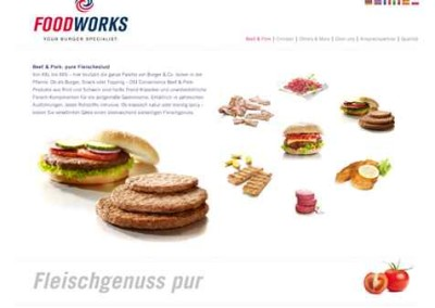 Webtexte Convenience Food Foodworks