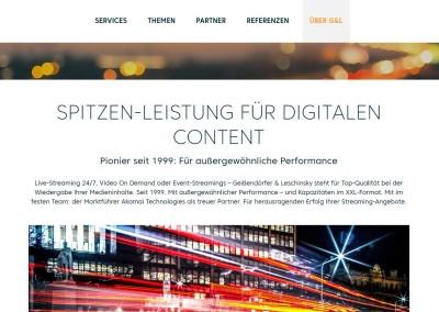 Webtexte Streaming-Dienstleister G&L