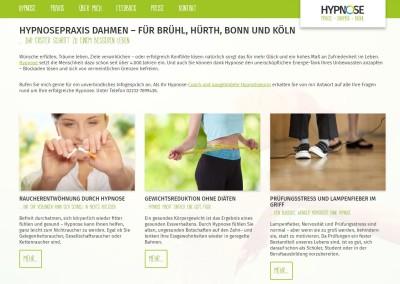 Hypnose Dahmen Webtexte