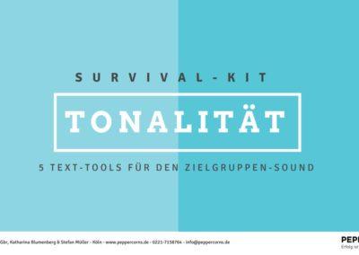 "Texte Leadmagnet ""Tonalität"""