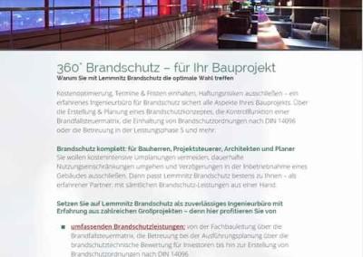Webtexte Brandschutz