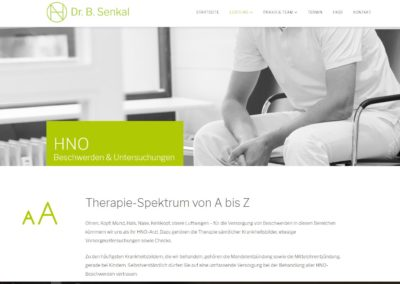 Webtexte HNO-Medizin