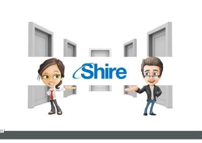 Konzept und Text Mitarbeiter-Video Shire