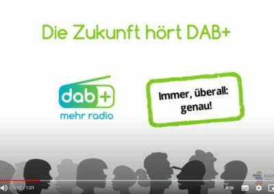 Konzept und Sprechertext DAB+